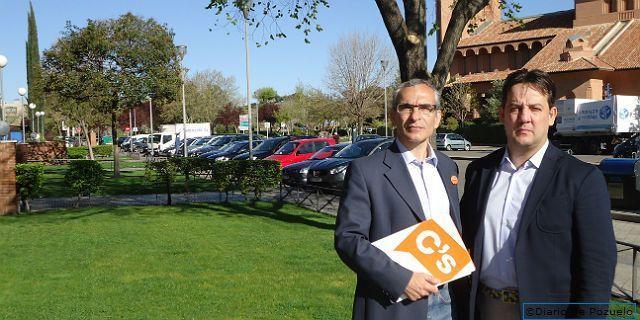 C´s pide un acuerdo entre Pozuelo y Madrid para mejorar los servicios en el último tramo de la Avenida Europa