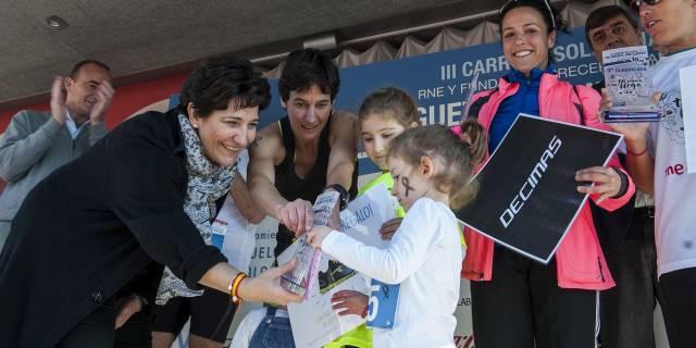 """Más de 1.200 personas han participado en Pozuelo en la carrera """"Un juguete, una ilusión"""""""