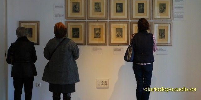 Los Caprichos de Francisco de Goya en el Centro Cultural Padre Vallet