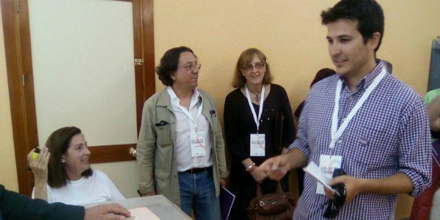 Pablo G. Perpinyà ya ha ejercido su derecho a voto