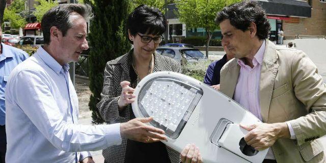 Pozuelo invierte más de un millón de euros en renovar y mejorar el alumbrado