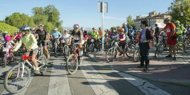 La fiesta de la bici congregó a más de 1.200 personas