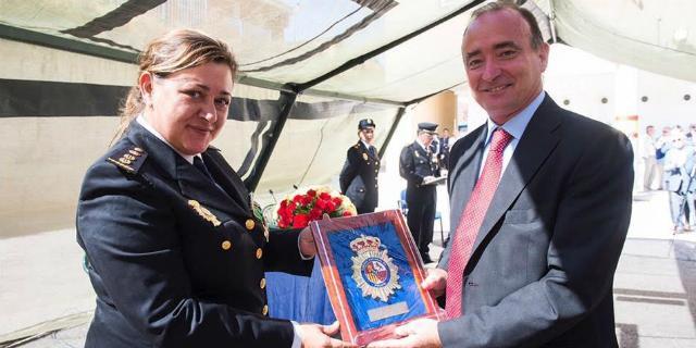 La Policía Nacional reconoce la labor de Carlos Ulecia